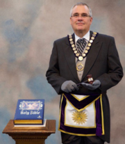 M.W. Dieter B. Hees, Grand Master of Masons for the State of New Jersey