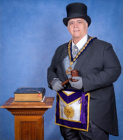 M.W. Roger B. Quintana, Grand Master of Masons for the State of New Jersey